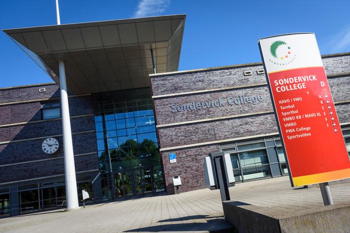 Het Sondervick College in Veldhoven.