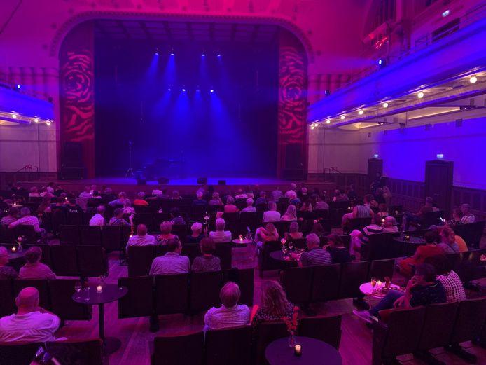 Concertgebouw De Vereeniging in coronaproof opstelling.