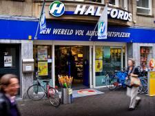 Fietsenwinkel Halfords vertrekt uit Megastores