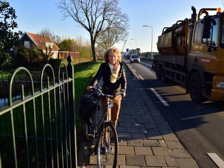 Provincie houdt vast aan 80 km p/u op gevaarlijke N207 in Waddinxveen: 'Alsof we tegen een muur praten'