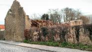 Schuur stort in door felle rukwinden: Kerkstraat hele dag afgesloten