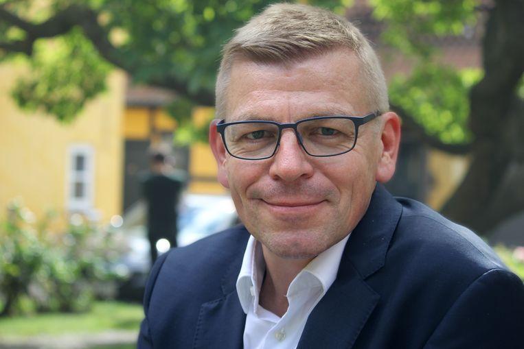 Erik Jylling, medisch directeur van de Deense gezondheidsregio's. 'Een kleine groep patiënten moet ver reizen, maar dan krijg je wel de beste zorg.' Beeld