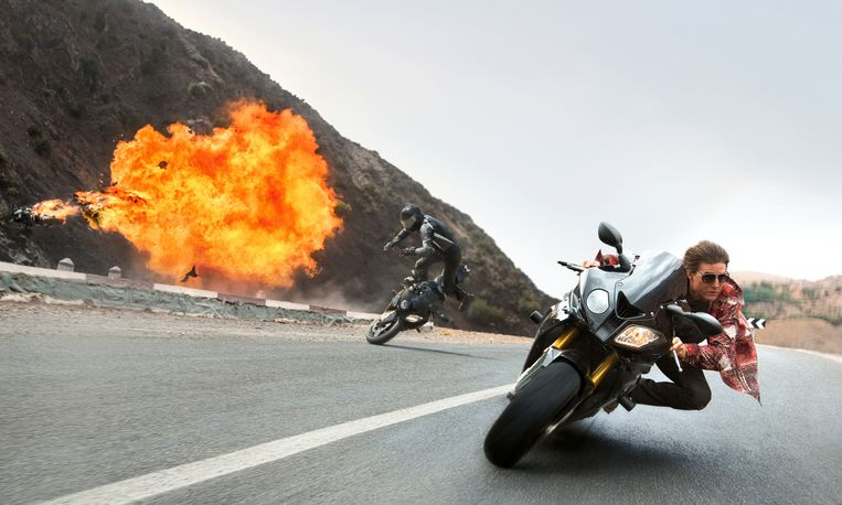Tom Cruise in Mission: Impossible - Rogue Nation  (Bo Bridges/Paramount Pictures and Skydance Productions via AP). Beeld AP