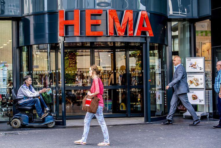 Exterieur van een vestiging van Hema in Rotterdam. Beeld ANP