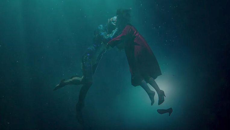 Sally Hawkins in Guillermo del Toro's The Shape of Water. Beeld