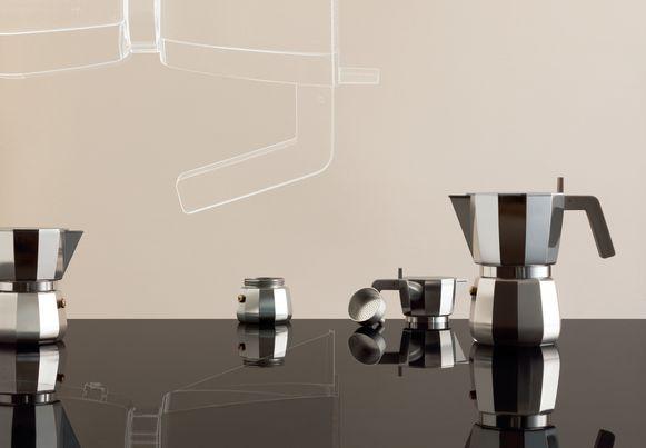 Koffiekan Moka; vanaf 28 euro.