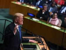 Dreigende taal Trump: Noord-Korea volledig vernietigen