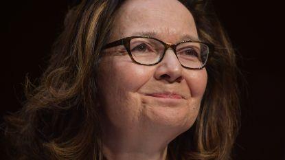 Nieuwe CIA-directeur belooft dat ze geen omstreden marteltechnieken meer zal gebruiken
