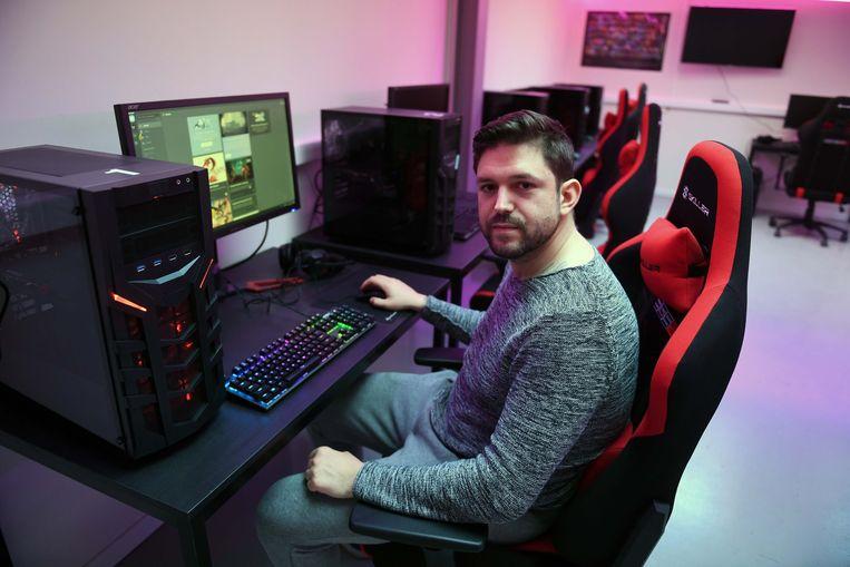 Joeri Vandeput van Gaming Café The Hub.