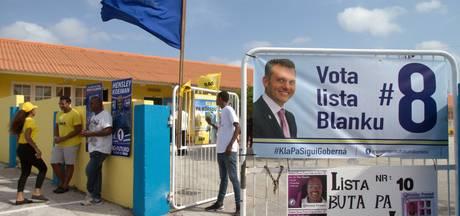Anti-Nederlandse Schotte derde bij verkiezing Curaçao