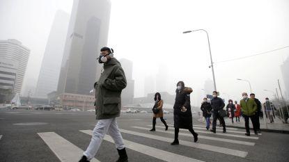 Code oranje in Peking: Chinese hoofdstad opnieuw gebukt onder zware smog