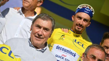 """Merckx: """"Moeten ons stilaan vragen stellen hoe ver Alaphilippe kan geraken"""""""