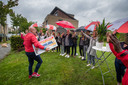 Gaston komt aan bij de winnaars in Kampen.