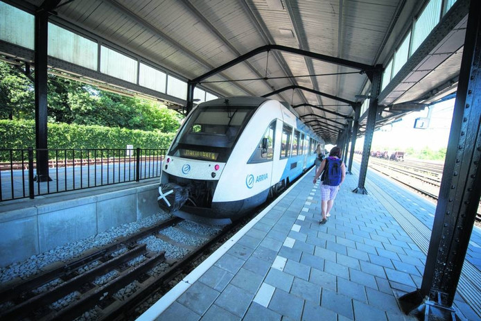 Door werk aan de spoorlijn Almelo -Mariënberg rijden dit weekend geen treinen naar Daarlerveen.