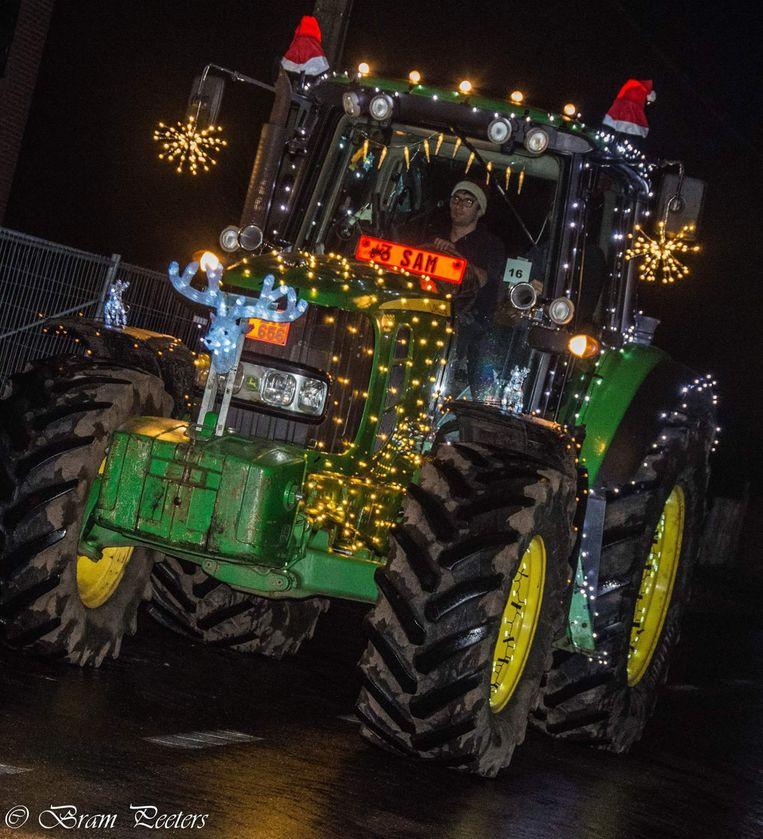 De tractorparade wordt iets speciaals...