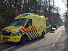 Motorrijder raakt in Vorden gewond bij val