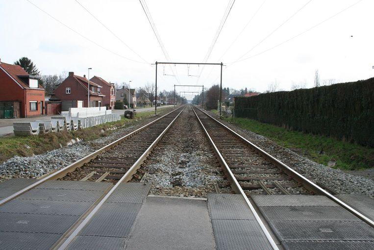 De spoorwegovergang zal drie dagen gesloten zijn.