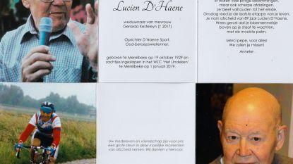 Afscheid oud-profwielrenner Lucien D'Haene (89)