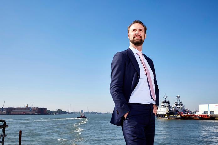 Maarten Struijvenberg is trots op het aantal mensen dat uit de bijstand aan het werk is gegaan.