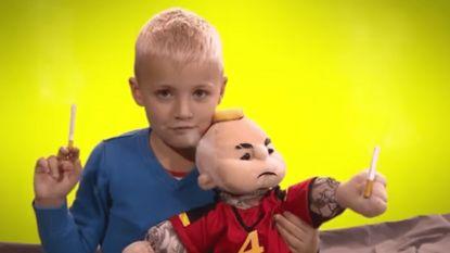 De Rode Duivels die een mascotte zoeken? Die kans kon 'De Ideale Wereld' niet laten liggen
