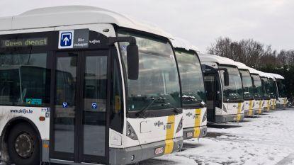 """Geen bussen in provincie Antwerpen, ook problemen in Oost-Vlaanderen: """"Ga deze nacht niet meer de baan op"""""""