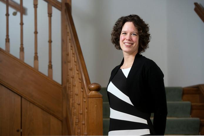 Ester Weststeijn, de nieuwe burgemeester van de gemeente Rozendaal.