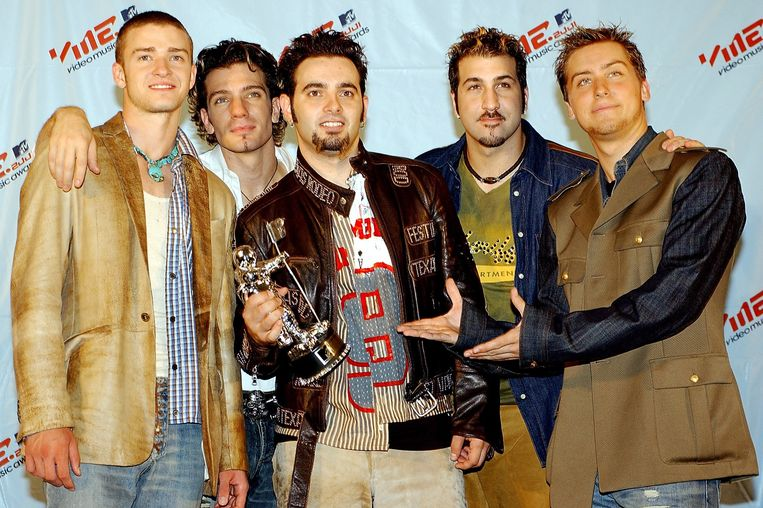 De heren van *NSYNC in 2001.