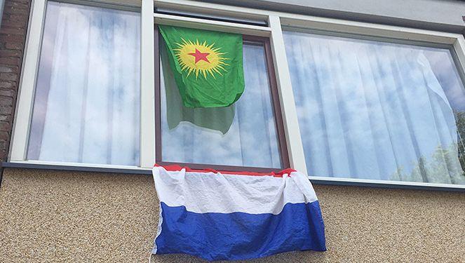 De PKK-vlag.
