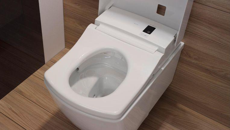 Japans toilet van de firma Toto. Beeld