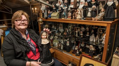 """Moniques collectie nonnenpoppen te zien in Museum van Deinze en de Leiestreek: """"Ik ken niemand die ze ook verzamelt"""""""