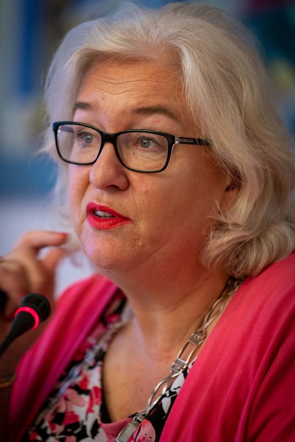 Burgemeester Marianne Schuurmans.