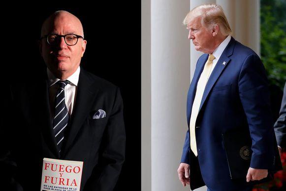 Na zijn snoeiharde kritiek op de president kunnen Michael Wolff en Donald Trump nooit meer samen door één deur. Voor de Amerikaanse president bestaat hij niet meer.