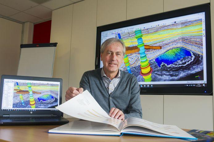 Paul de Groot, directeur van dGB Earth Sciences en klimaatcriticus.