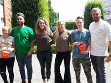 'Sushi Shimin' wint (ham)burger kookwedstrijd op Bossche Vakschool