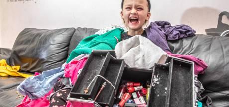 Brandon (10) uit Zwolle wil Brandy zijn en nu kan ze dankzij gulle gevers eindelijk in meisjeskleren naar school
