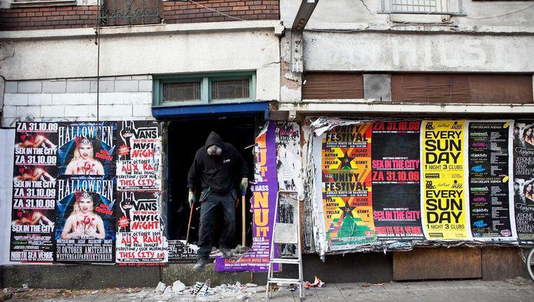 In 2009 werden 35 sociale huurwoningen gesloopt, toen nog om plaats te maken voor koopwoningen. Beeld Marc Driessen