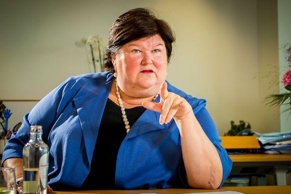 Minister van Volksgezondheid Maggie De Block (Open Vld) wilde een verklaring die ze deed op Twitter niet met dezelfde woorden herhalen in de krant.