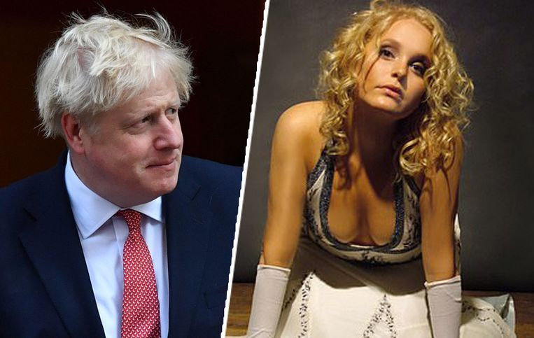 Boris Johnson en zijn Amerikaanse kennis Jennifer Arcuri.