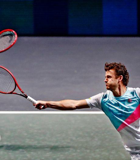 Trotse moeder ziet Wesley tennisdroom beleven op US Open: 'Als hij niet zo gedreven was geweest, had hij het niet gered'