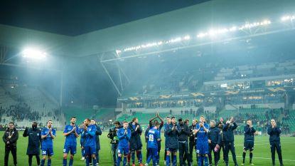 AA Gent na Europese overwintering beste Belgische ploeg op UEFA Ranking