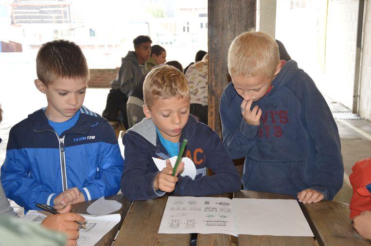 De nieuwe leerlingen van het Hartencollege Buitengewoon Lager Onderwijs krijgen een meter of peter toegewezen.