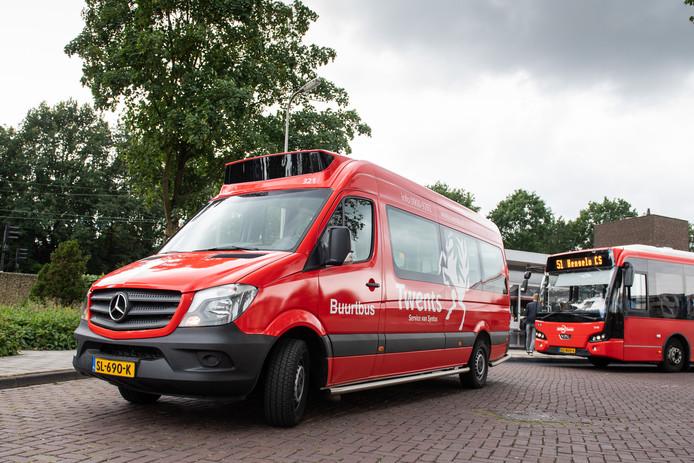 Wegwerkzaamheden dwingen de bussen tot andere routes door Borne.
