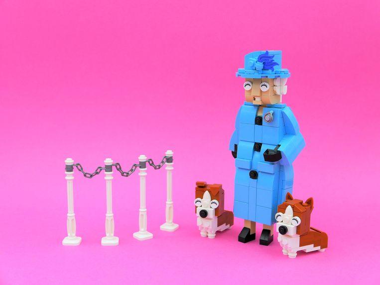 De Britse Queen van LEGO Beeld LEGO ideas