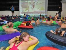Bioscoopavond in zwembad Zierikzee