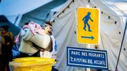 Sans-papiers willen Maximiliaanpark niet verlaten