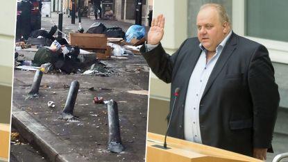 Fake news: Vlaams Belanger viseert migranten met foto, maar huisvuil ligt er nog door staking