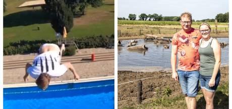 Luchtig nieuws: Twentse hittegolf in cijfers en Denekampse dj bouwt feestje op de duikplank