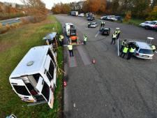 Grote politie-actie tussen Eindhoven en Helmond