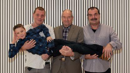 Familie Ryssens trots met hun viergeslacht