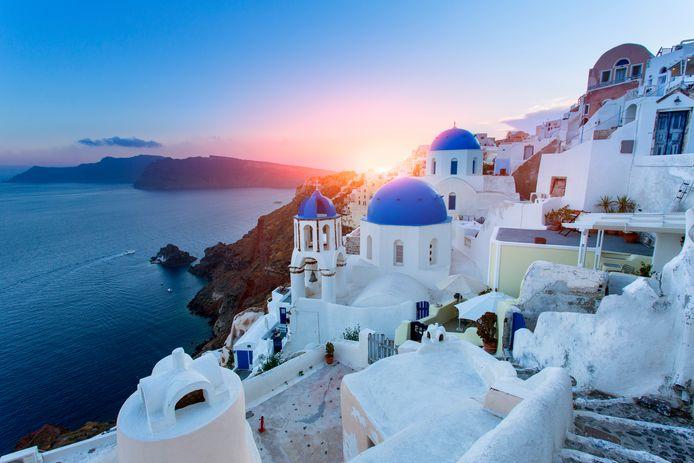 L'île grecque de Santorin est une destination prisée des touristes depuis plusieurs années.
